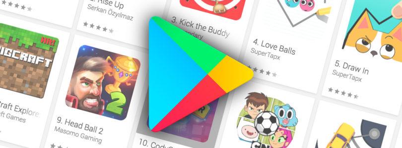I giochi Android più scaricati nella storia di Google Play