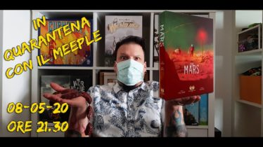 Videotutorial partita in solitario On Mars contro Automa
