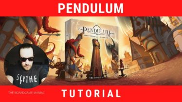 Come si gioca a Pendulum: Video tutorial con regole e setup