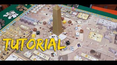 Come si gioca a Tekhenu Obelisco del sole | Video tutorial con setup e regole