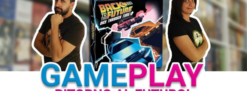 Come si gioca a Back to the Future Dice through Time: partita completa