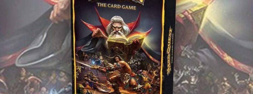 A sorpresa arriva HeroQuest The Card Game