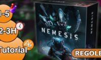 Come giocare a Nemesis: spiegazione regole e setup iniziale