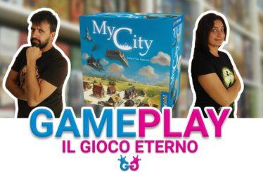 Partita completa a My City, il gioco city builder di Knizia