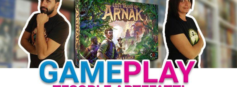Come giocare a Le Rovine Perdute di Arnak: partita completa